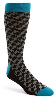 Ted Baker Houndstooth Socks