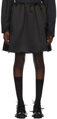 Shushu/Tong Black Suspender Skirt