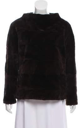 Michael Kors Sheared Mink Fur Jacket