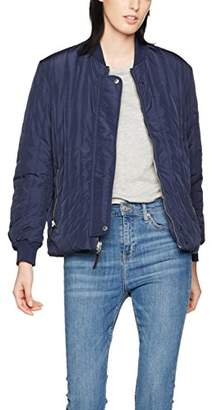 J. Lindeberg Women's Taylor Quilted Jacket|#295 Round Collar Long Sleeve Jackets,(Manufacturer Size:42)