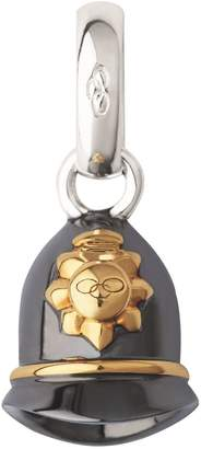Links of London Ruthenium and Yellow Gold VermeilPolice Helmet Charm