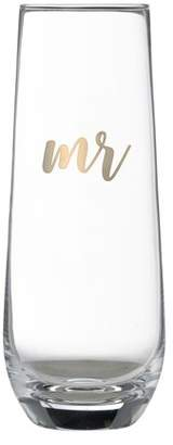 Lillian Rose Mr. Stemless Champagne Glass
