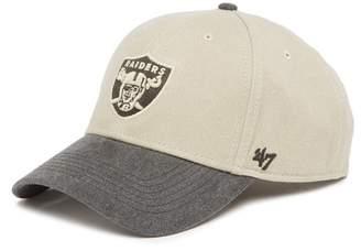 '47 NFL Raiders MVP Baseball Cap