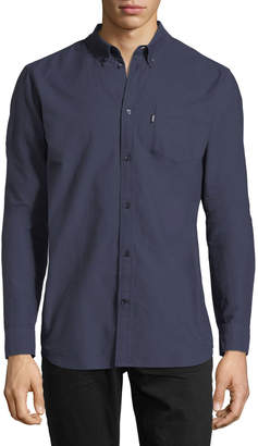 Wesc Oden Cotton Oxford Shirt