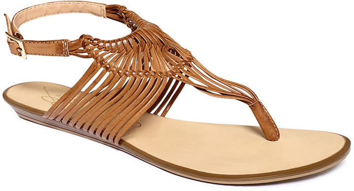 Report Shoes, Ariel Flat Thong Sandals