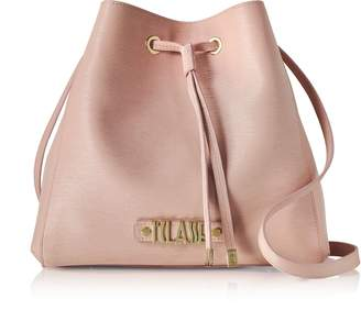 Alviero Martini Alegria Smile Saffiano Leather Bucket Bag