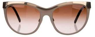 Burberry Tinted Oversize Sunglasses