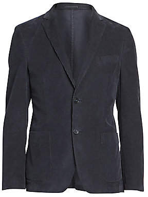 Officine Generale Men's Corduroy Button Jacket