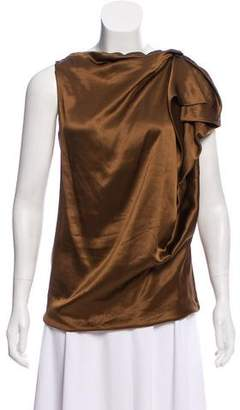 Lanvin Silk Sleeveless Top w/ Tags