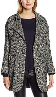 Gat Rimon Women's Mumu Reefer 3/4 Sleeve Coat,(Manufacturer Size: 36)