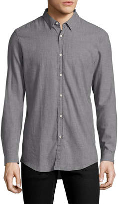 The Kooples Button Down Curved Sportshirt