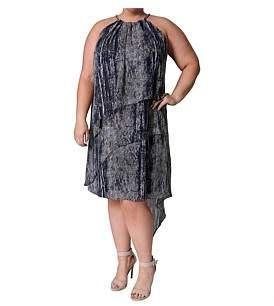 Hunter Eve Printed Multi Layer Dress