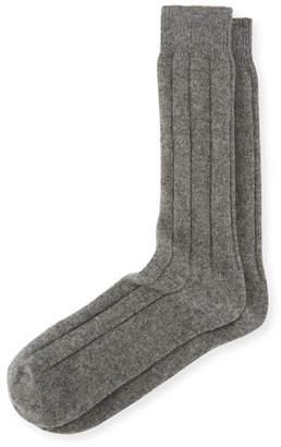 Neiman Marcus Men's Cashmere Socks