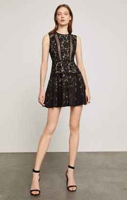 BCBGMAXAZRIA Veda Floral Lace Dress