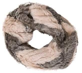 Jocelyn Fur Infinity Scarf