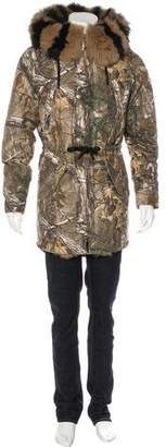 Moose Knuckles Fur-Trimmed Realtree Parka w/ Tags