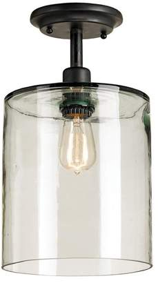 Currey and Company Panorama Industrial Modern 1 Light Ceiling Mount