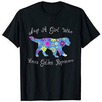 Golden Retriever Shirts - Cute Design For Women