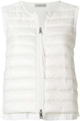 Moncler zipped padded gilet