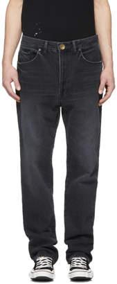 Miharayasuhiro Black Wide Jeans