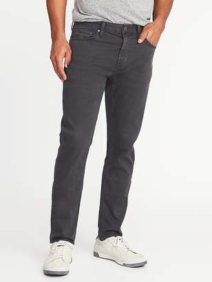 Old Navy Relaxed Slim Built-In Flex Max Twill Five-Pocket Pants for Men