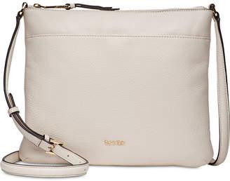 Calvin Klein Pebble Leather Lily Crossbody