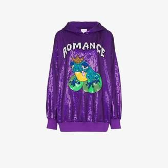 Ashish Romance sequin hoodie