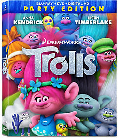 Dreamworks Trolls Blu-ray/DVD/Digital Copy