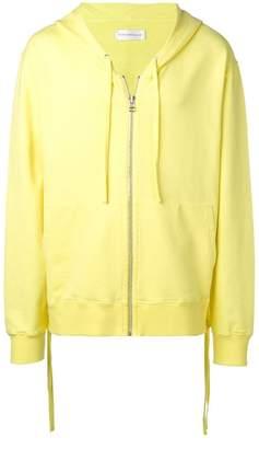Faith Connexion oversized zip front hoodie