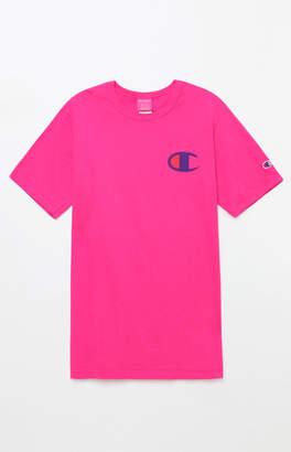 Champion Big C Pigment Pink T-Shirt
