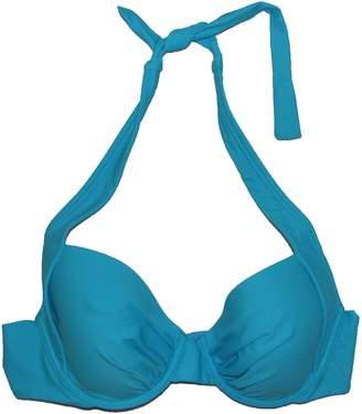 Tommy Bahama Women's Bra-sized Underwire Halter Bikini Top Baia