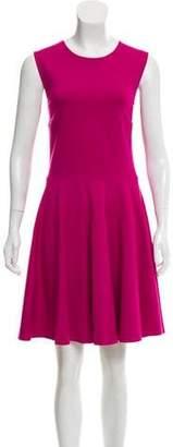 Diane von Furstenberg A-Line Sleeveless Knee-Length Dress