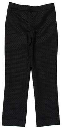 Tory Burch Mid-Rise Knit Pants