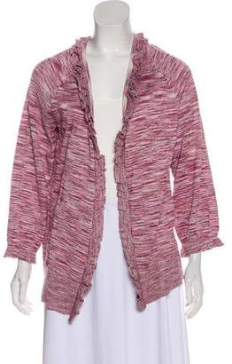 Magaschoni Metallic Knit Cardigan w/ Tags