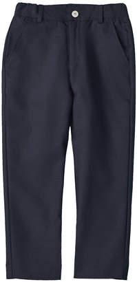 Oscar de la Renta Classic Slim Wool-Blend Pant