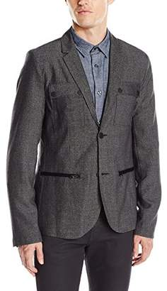 Kenneth Cole Reaction Men's Military Blazer