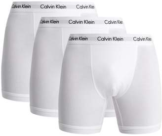 Calvin Klein Underwear Set of three stretch-cotton boxer trunks