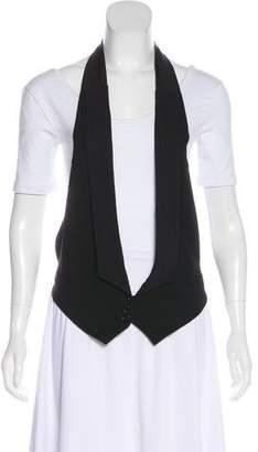 Ann Demeulemeester Wool Halter Vest