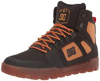 DC Men's Pure HIGH-TOP WR Boot Skate Shoe