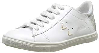 Achile Girls' Paula Low White Size: 10 Child UK