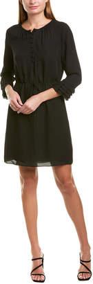 Rebecca Taylor Georgette Silk Shift Dress