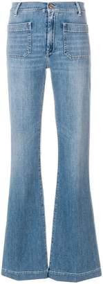 The Seafarer high-waist flared jeans