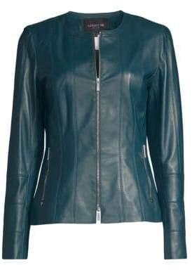 Lafayette 148 New York Courtney Leather Jacket