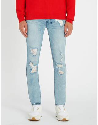Ksubi Van Winkle Thrashed Dreams slim-fit distressed stretch-denim jeans