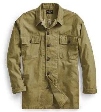 Ralph Lauren Cotton Twill Tour Overshirt