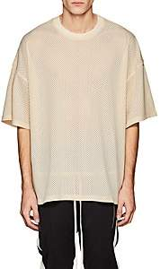 Fear Of God Men's Mesh Oversized T-Shirt - Beige, Tan