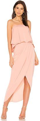 Shona Joy Strapless Frill Dress