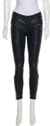 Blank NYC Vegan Leather Mid-Rise Pants