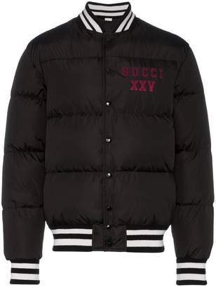 Gucci GG pirates stadium bomber jacket