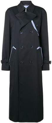 Maison Margiela long-sleeved waterrepellent trenchcoat